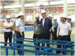 武宁生副厅长调研吴中铁路建设管理与质量安全工作 - 交通运输厅
