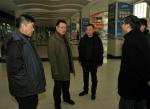 曹志斌检查指导降雪天交通运输保障服务工作 - 交通运输厅