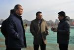 曹志斌在调研重点工程冬季施工情况时强调提高政治站位 切实做到工程建设与环境保护两不误两促进 - 交通运输厅