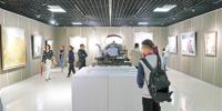 庆祝自治区成立60周年 宁夏美术摄影书法作品展开幕 - 文化厅