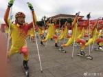宁夏运动员亮相北京马拉松赛宣传冬奥会 - 省体育局